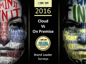 On Premise Giants and AWS Trade Blows in IT Brand Leader Surveys
